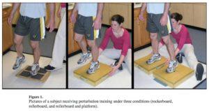 摂動トレーニングの実施方法