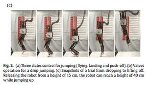 足底筋膜をロボットに再現してジャンプ