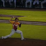野球のピッチング動作
