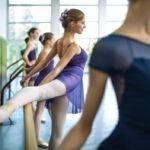 バレエダンサーの股関節の可動域