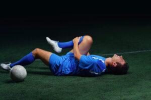 サッカー怪我