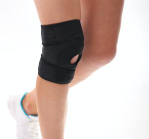膝のサポーター